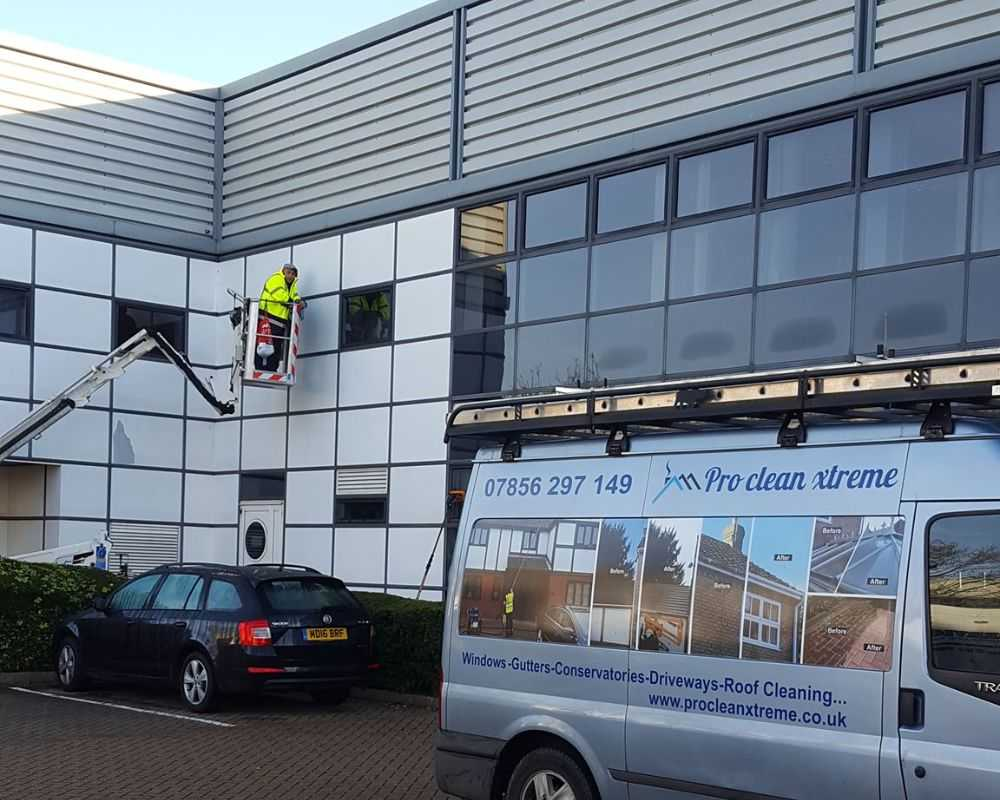 cladding cleaning huntingdon