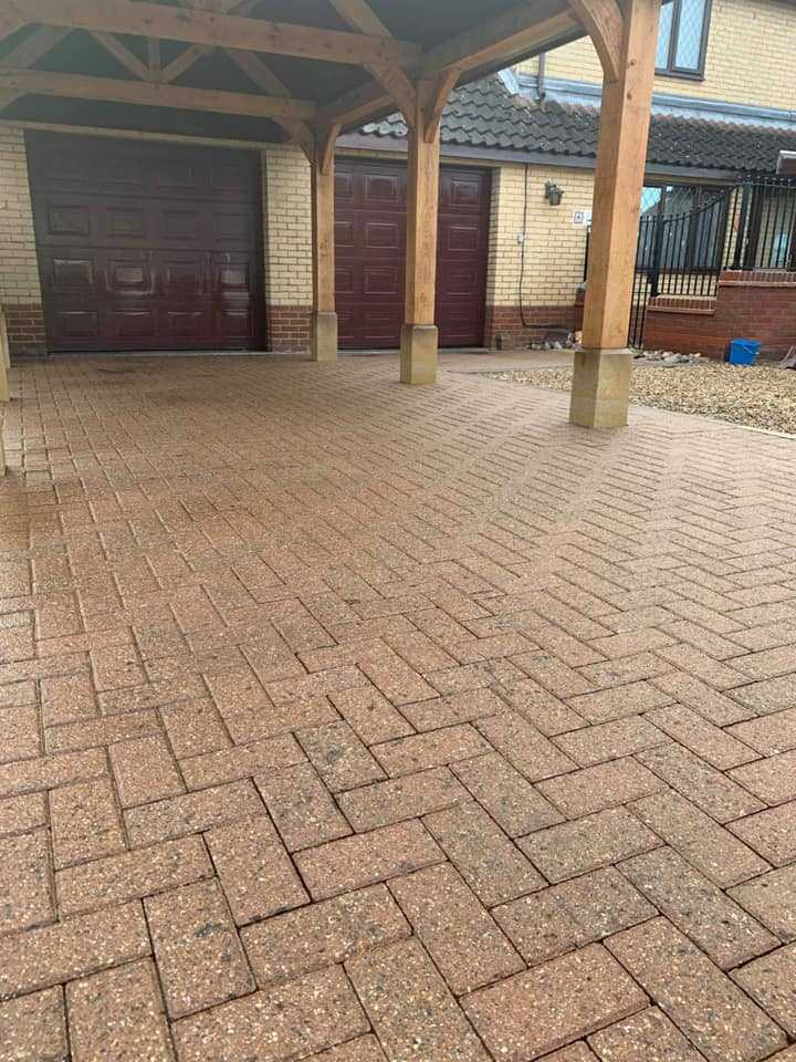 driveway cleaning service after huntingdon