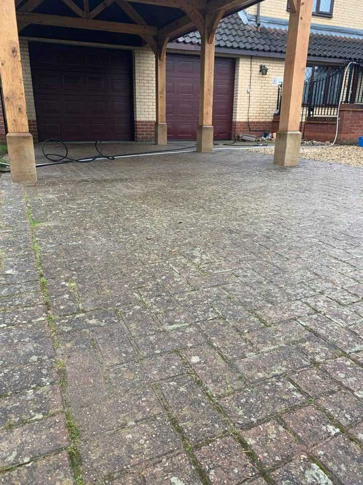 driveway cleaning service before huntingdon