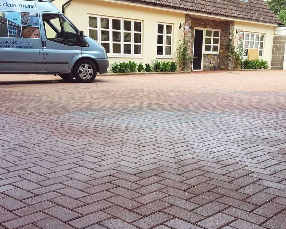 pressure washing after cambridge