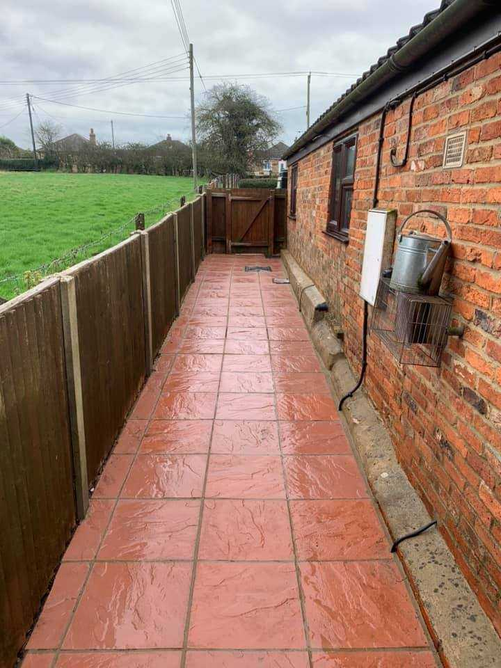 pressure washing service after huntingdon