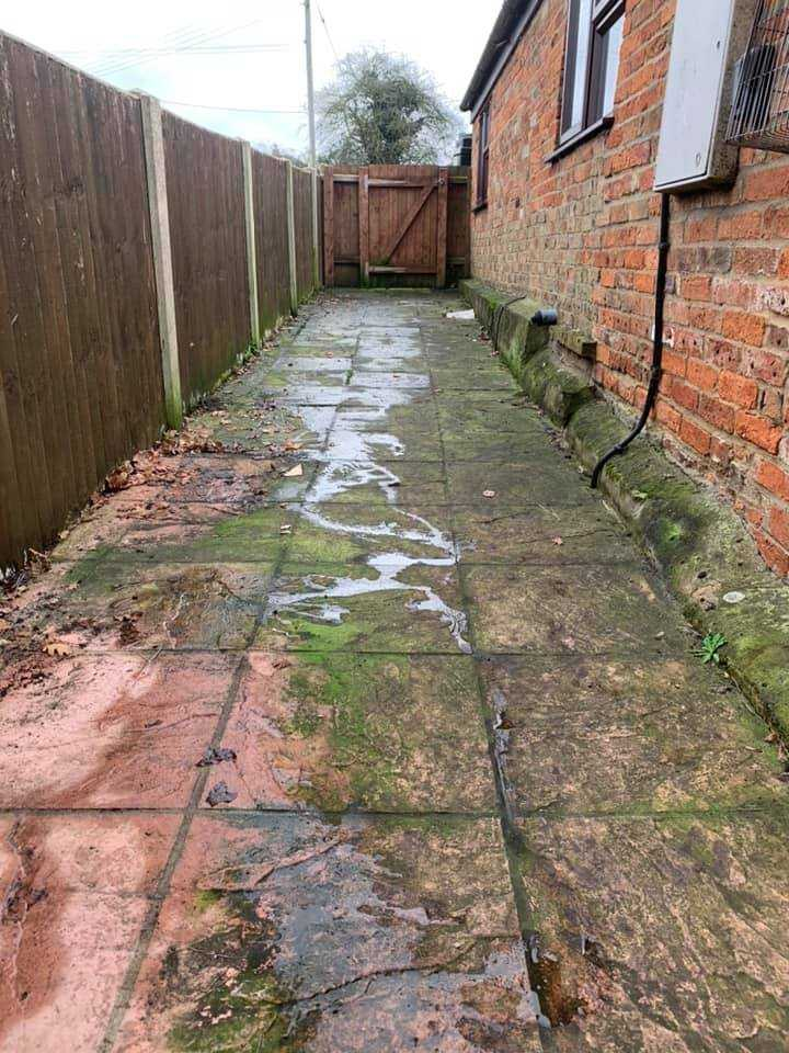 pressure washing service before huntingdon