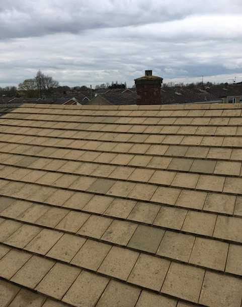 roof cleaning service after cambridge